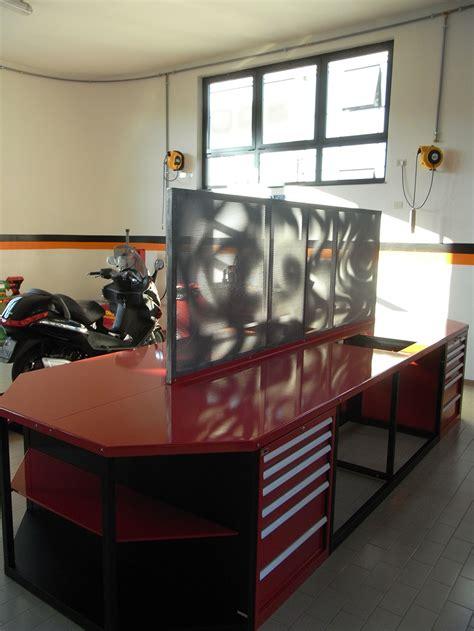 tavolo da officina tavolo da lavoro per officina moto in ferro verniciato con