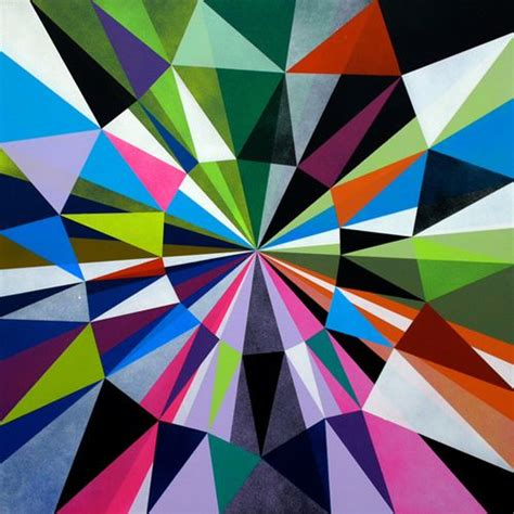 triangle pattern art triangles everywhere emily s math 221 page