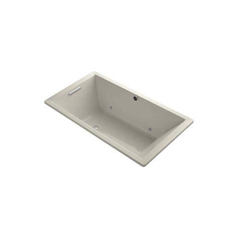 kohler underscore bathtub kohler underscore 5 5 ft bubblemassage reversible drain
