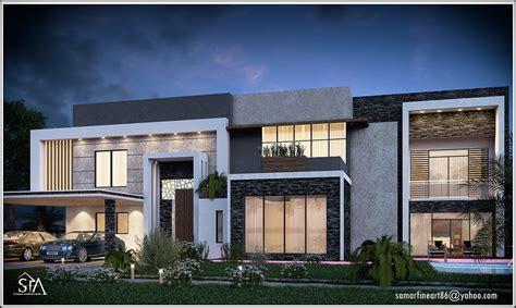 Villa Interior Design by Modern Villa House Full Project On Behance