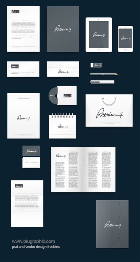 Corporate Identity Mockup And Photoshop On Pinterest Mockup Templates For Photoshop