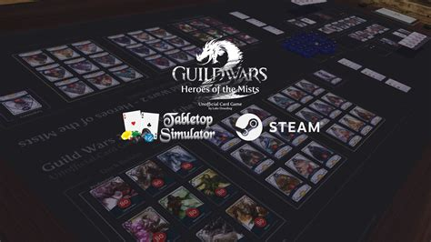 Tabletop Simulator Better Card Template by Guild Wars 2 Card Is Now On Tabletop Simulator