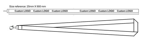 Woven Lanyard Custom Embroidered Lanyards Supplier Star Lapel Pin Lanyard Size Template