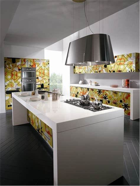 bright and alive modern kitchen designs crystal by