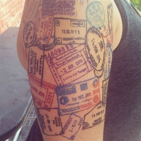 travel inspired tattoos 20 awesome travel inspired ideas the travel bible