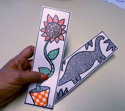 printable bookmarks to make make it easy crafts create a one of a kind zentangle