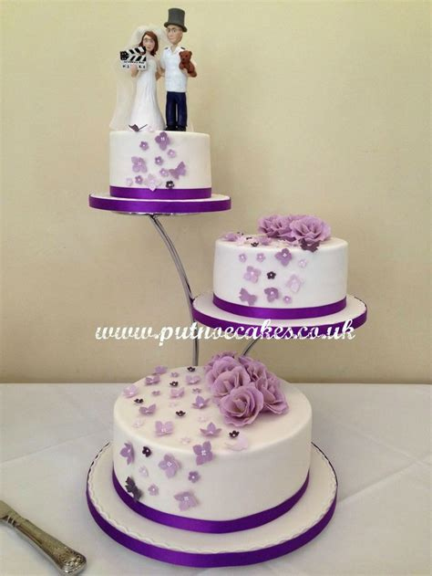 3 Wedding Cakes by Separator Stand 3 Tier Wedding Cake And Groom