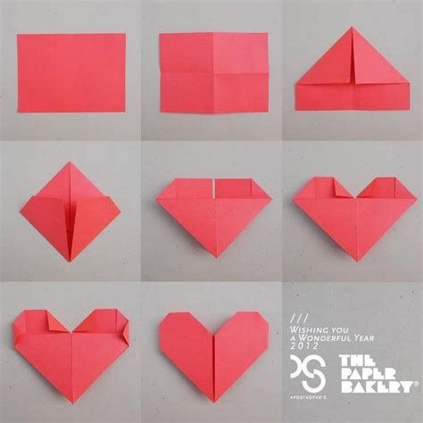 Paper Craft Things - craft paper folding preschool crafts