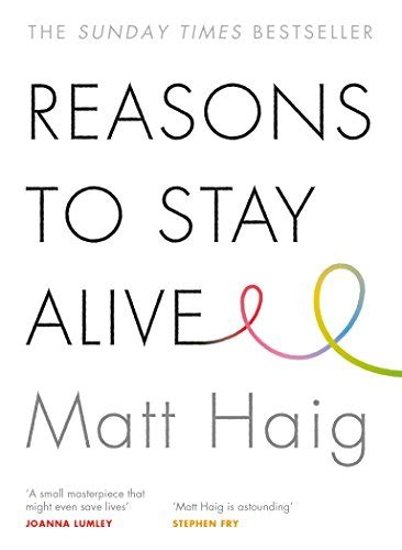 libro reasons to stay alive reasons to stay alive saggi panorama auto
