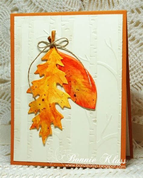1000 images about cards autumn on pinterest handmade