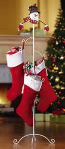 Snowman christmas stocking holder christmas