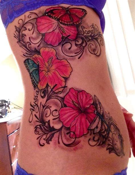 hawaiian flower tattoos large preview easy on the eye best 25 hibiscus flower tattoos ideas on pinterest