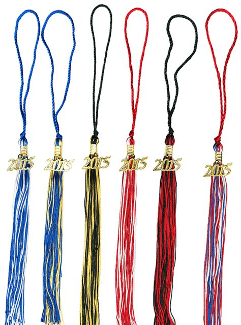 graduation tassel colors two color graduation tassels 9 inch 2 color grad tassel