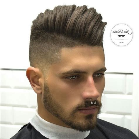 diy mens haircuts the brilliant pompadour near me intended for house