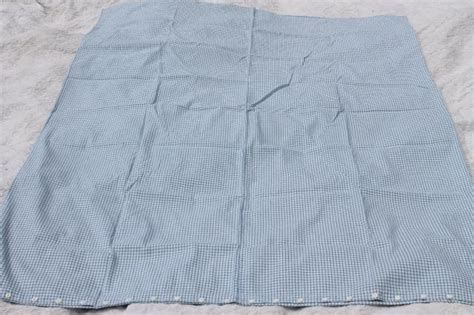 feather tick comforter vintage blue white checked cotton duvet or comforter