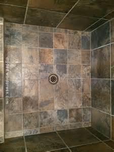 Tiled Shower Pan by Tile Shower Pan Diy