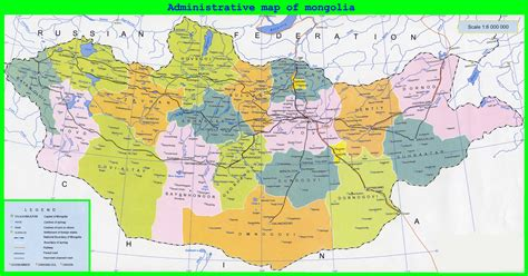 map of maps of mongolia detailed map of mongolia in