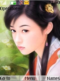 themes download girl free java cute chinese girl app download in cartoons tag