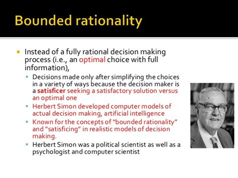 474 2015 Rational Choice Amp Psychological Models Of