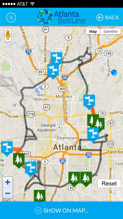 adopt the atlanta beltline atlanta beltline atlanta beltline unveils new free mobile app atlanta