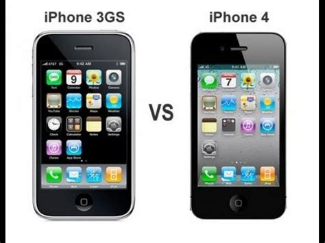 A Iphone 4 Iphone 4 Iphone 3gs Le Test Comparatif