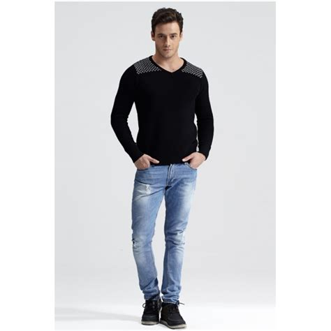 Jp Kerah jual sweater pria kerah v
