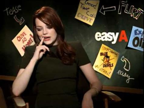 emma stone youtube interview easy a interview with emma stone youtube