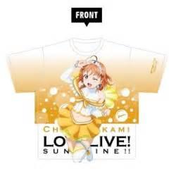 Kaos Anime Lovelive Takami Chika Graphic T Shirt live dia kurosawa graphic t shirt