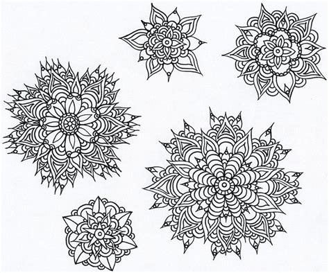 fractal coloring pages printable coloring home