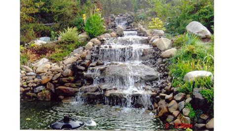 small garden waterfall ideas small garden ponds and waterfalls ideas