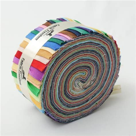 Patchwork Jelly Rolls - 100 cotton jelly rolls patterned patchwork strips craft