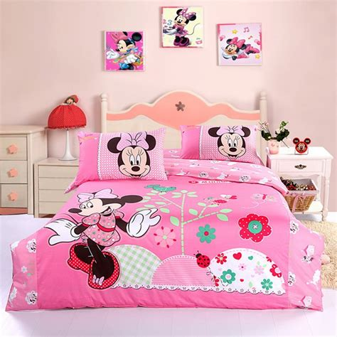 Minnie Bed Set Cutest Mickey Mouse Bedding For And Adults