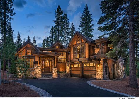 Ranch Log Home Floor Plans custom homes lake tahoe martis camp truckee northstar