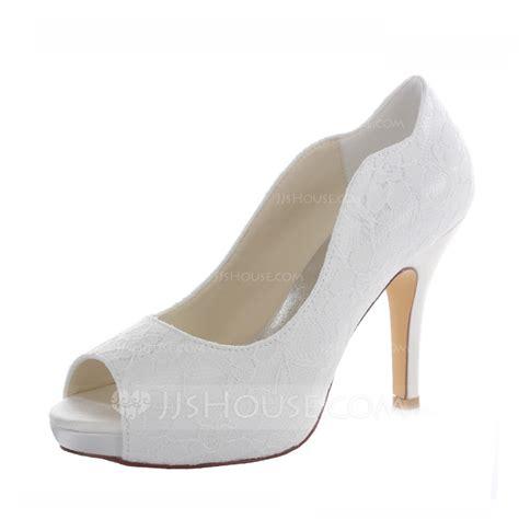Lace Peep Toe Heel Sandals s lace satin stiletto heel peep toe sandals
