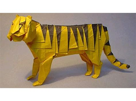 Tiger Origami - the of a paper tiger j d longstreet flash