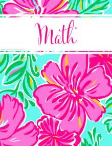 lilly pulitzer binder cover templates best 25 binder covers free ideas on