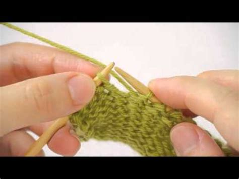 how to do wrap and turn in knitting episode 1 wrap turn knitting tutorial row