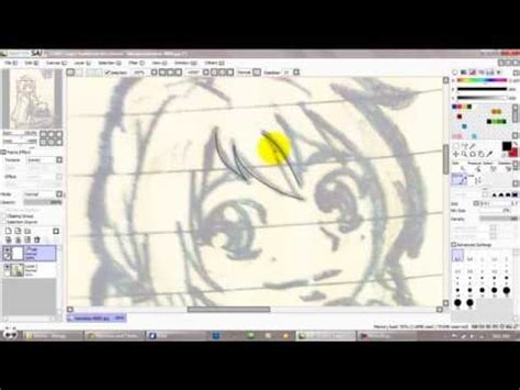 paint tool sai lineart tutorial mouse paint tool sai tutorial for mouse users part 1 lineart