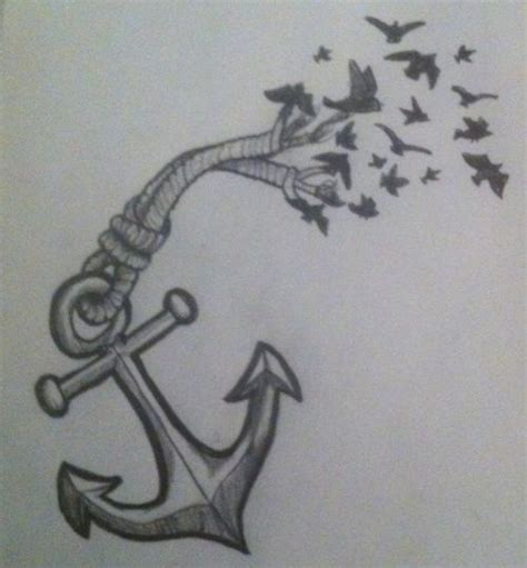tattoo of flower turning into birds anchor turning into birds tattoo google search tattoos