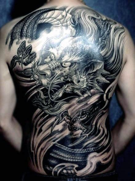 dragon tattoo at the back 50 chinese dragon tattoo designs for men flaming ink ideas