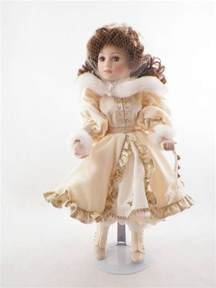 franklin heirloom dolls elizabeth ann porcelain doll holiday collectible in box ebay