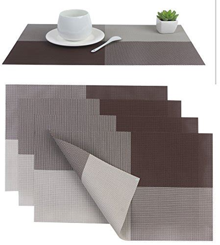 dining room placemats placemat placemats pvc dining room placemat for table heat