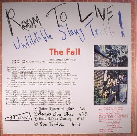 the fall room to live the fall room to live reissue vinyl at juno records