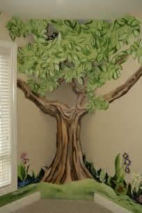 Beatrix Potter Wall Mural tree mural idea for kids room house pinterest kids rooms