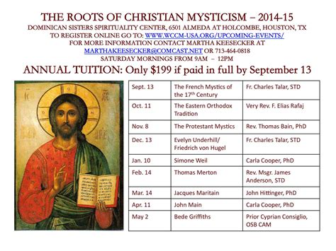 wisdom from the christian mystics how to pray the christian way books article topics