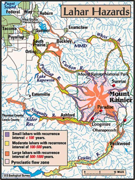 seattle inundation zone map geotimes september 2005 around mount rainier