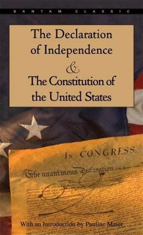the constitution of the united states books the declaration of independence and the constitution of