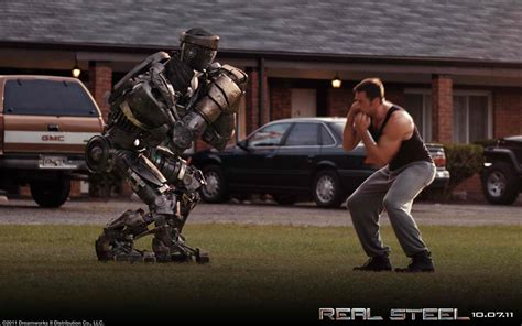 film robot boxing discover nyp real steel real robots real action
