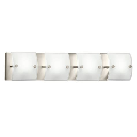 brushed nickel bathroom vanity light westwood collection 4 light brushed nickel bathroom vanity