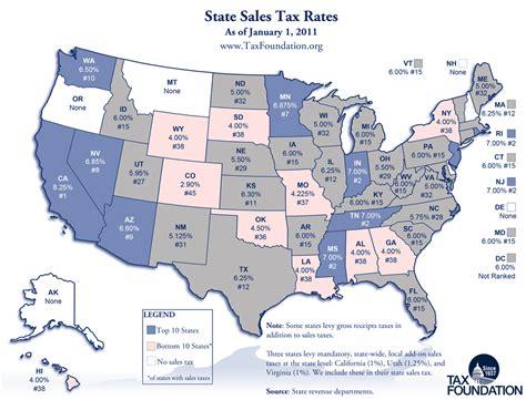 what is washington state sales tax carpe diem monday map state sales tax rates